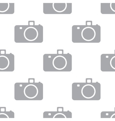 New Camera seamless pattern vector image