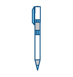 Office pen isolated vector