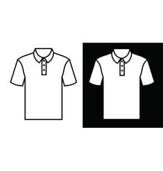 Tshirt icon vector image