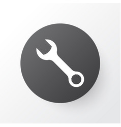wrench icon symbol premium quality isolated vector image