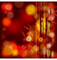 bamboo abstract vector image vector image
