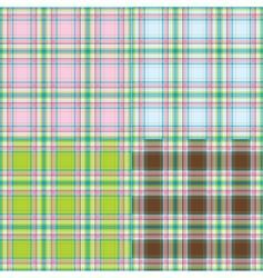 fashion fabrics vector image vector image