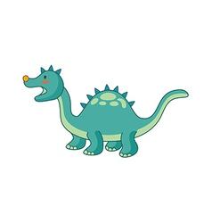 A dinosaur vector