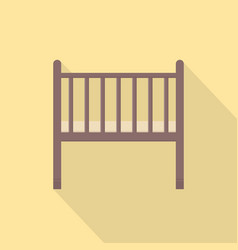 baby cradle icon set of great flat icons use for vector image
