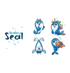 Baby Seal vector image
