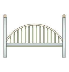 Bridge icon cartoon style vector image