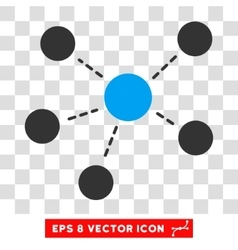 Connections Eps Icon vector image