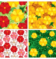 cosmos pattern set vector image