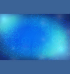 scifi abstract blue background vector image