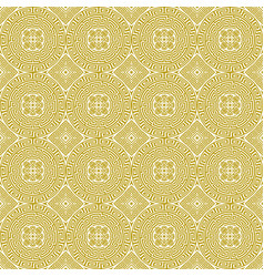 Seamless background in greek ethnic style vector