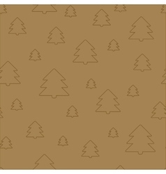 Seamless Christmas pattern New Year theme vector