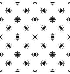 Sun pattern simple style vector