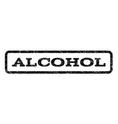 Alcohol watermark stamp vector