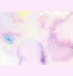 colorful abstract background soft pink watercolor vector image