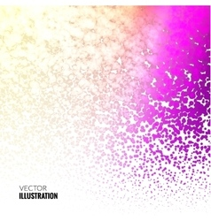 Halftone Colorful lilac Lights Falling Dots vector