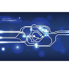 circuit design vector image