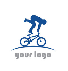 Bike sport logo vector