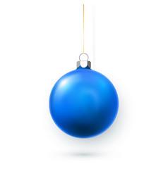 blue green yellow and red christmas ball xmas vector image