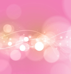 Bright Abstract Pink Background vector