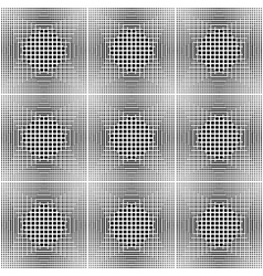 Design seamless monochrome square pattern vector