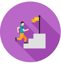 goal oriented vector image