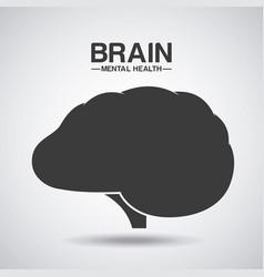 mental health design vector image