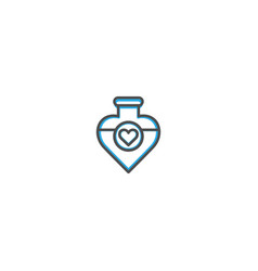 Potion icon design lifestyle icon vector
