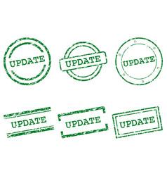 Update stamps vector