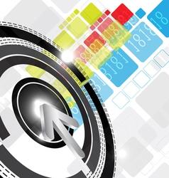 digital background design vector image