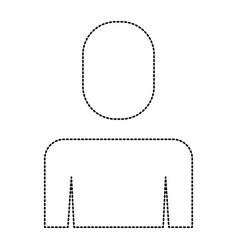 businessman portrait manager female icon vector image