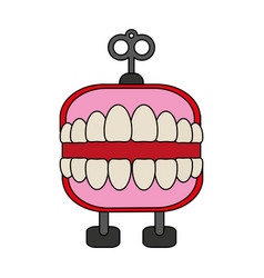 Funny toy icon image vector