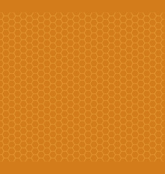 honey combs seamless pattern vector image