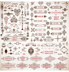 Mega set Design resources vector