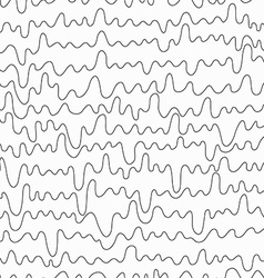 monochrome curved line seamless vector image