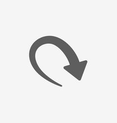 New arrow icon vector