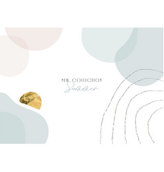 New collection summer boho banner or header vector