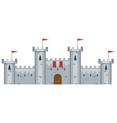 of medieval castle vector image