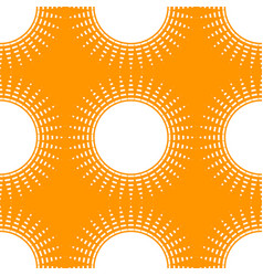 Simple with geometric sun for summer holiday vector