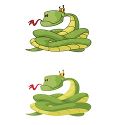 snake set vector image