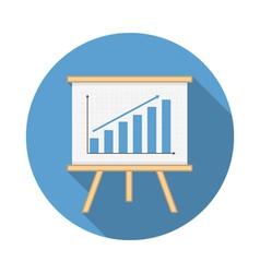 Graph Icon vector image vector image