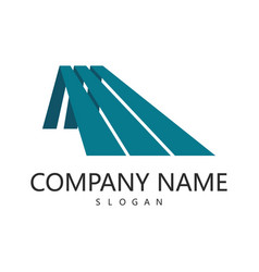 roof company logo vector image
