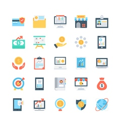 Banking and Finance Icons 4 vector image
