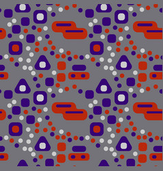 Busy city streets seamless pattern vector