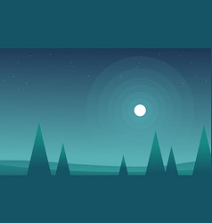 Collection game background landscape style vector