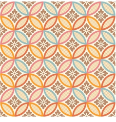 Seamless japanese style fabric pattern vector