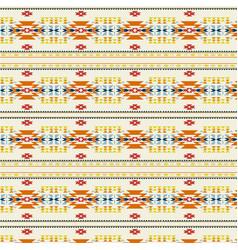 Tribal aztec art pattern vector