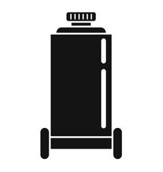 Unit air compressor icon simple style vector