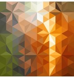 Retro triangle background vector image vector image