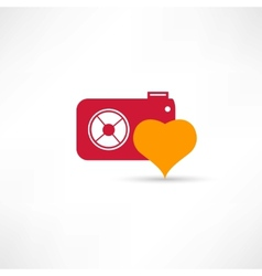 photograph to take pictures icon vector image