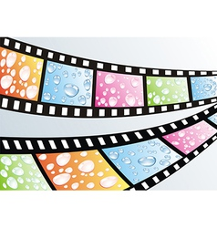 A film strip vector